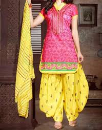 new punjabi patiala salwar kameez suit neck designs