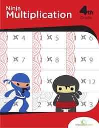ninja multiplication workbook education com