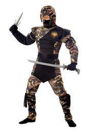 Halloween Costumes Mortal Kombat Special Ops Ninja Costume Boys Military Halloween Costumes