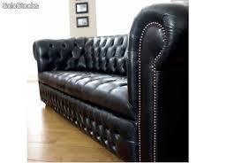 canap chesterfield noir canapé chesterfield cuir noir produits