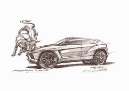 cartoon lamborghini lamborghini to make new suv by 2018