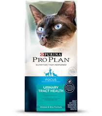 urinary tract health formula dry cat food focus purina pro