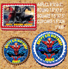 Popular Spiderman Cake Toppers Buy Cheap Spiderman Cake Toppers
