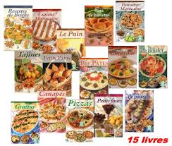 livre de cuisine pdf pack 15 livres de cuisine illustrés noufissa el kouch noufissa