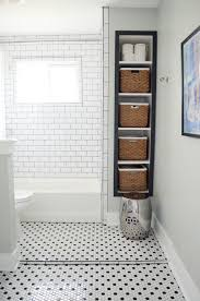 Bathroom Organizers For Small Bathrooms by Project Guest Bath Remodel Reveal Subway Tile Showers Tile