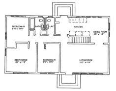 Ranch Style Home Plans With Basement One Story Ranch Style House Plan Needs About 500 Sq Ft More But I