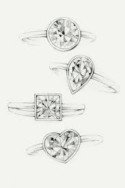 awesome sketches of rings drawing sketch library