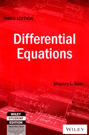 differential equations 3rd edition buy differential equations