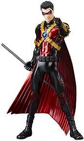 Red Robin Halloween Costume Amazon Red Robin Teen Titans 52 Artfx Statue U0026 Kitchen