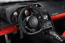 koenigsegg ccxr trevita supercar interior lamborghini gallardo lp 570 4 squadra corse 2013 cartype