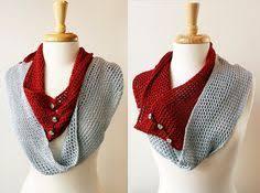 short red scarf in merino wool knit metallic mother u0027s by girlpower