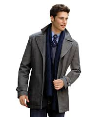 executive collection traditional fit 3 4 length car coat clearance