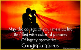 marriage congratulations message congratulation on marriage message wedding card quotes and wishes