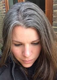 how to grow in gray hair with highlights photos going gray gracefully with highlights black hairstle