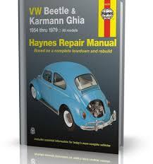 vw beetle u0026 karmann ghia 1954 1979 instrukcja naprawy i