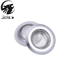 bathroom sink hair catcher jelbo 2pcs stainless steel sink filter kitchen sewer drain hair