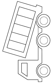 bucket truck coloring page clip art library