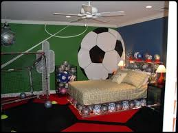 Kids Room Boys Bedroom Decorating Ideas Sport Baseball Theme - Cool kids bedroom theme ideas