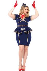size flight attendant halloween costume idea size