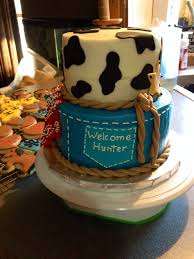 cowboy baby shower cake my projects pinterest cowboy baby