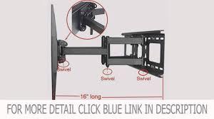 Wall Mount 32 Flat Screen Tv Videosecu Tilt Swivel Tv Wall Mount 32 55 Lcd Led Plasma Tv Flat