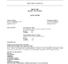 resume sle for job applications resume template pdfree download sle professionalormat sles