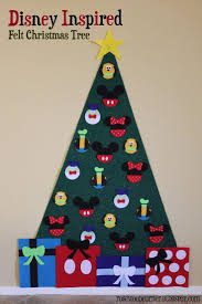 disney inspired felt christmas tree step by step instructions to