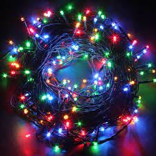 50m 250 led string fairy lights 8 mode lamp holiday party wedding