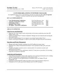 free sample warehouse associate resume resume template example