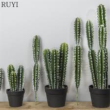 plante verte bureau 20 pcs tropical cactus colonne plante artificielle de noël