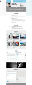 resume website exles 41 html5 resume templates free sles exles format