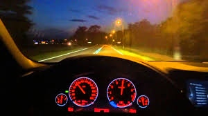 bmw dashboard at night 2016 bmw 5 series f10 m 528i xdrive night xenon hid lights test