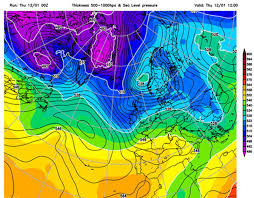 Gardening Zones Uk - snow weather mapped when and where will snow hit uk in south