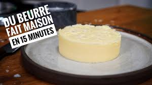 beurre de cuisine diy comment faire beurre maison astuce cuisine