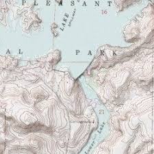 lake pleasant map lake pleasant maricopa county arizona reservoir baldy mountain
