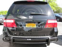 honda odyssey rear bumper rear bumper guard blk auto vanguard
