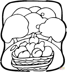 fruit garden coloring free printable coloring pages