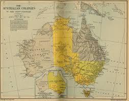 Historical Maps Australian Colonies Historical Map U2022 Mapsof Net