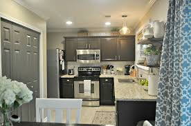 live pretty on a penny 10 fabulous non white kitchen makeovers