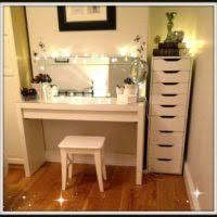 Best Vanity Lighting For Makeup Bedroom Bedroom With Black Wooden Corner Makeup Table Using