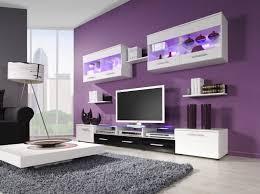 dark purple living room chrome arc floor lamp white rectangle