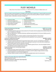 Manager Retail Resume 9 Customer Experience Manager Resumes Bussines Proposal 2017