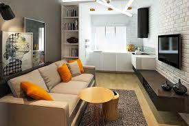 cuisine ouverte sur salon design interieur micro studio cuisine ouverte salon parement mural