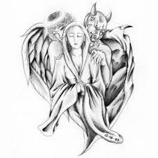 angel and devil tattoo的圖片搜尋結果 tattoo idea pinterest