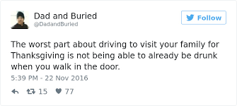 15 hilariously relatable tweets about thanksgiving nifymag