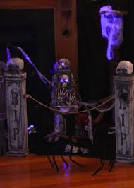 halloween indoor graveyard u2014 chic party ideas