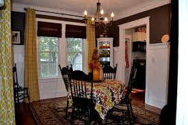 Curtains For Dining Room Inspiring Dining Room Curtains Patterned Or Plain Ruchi Designs