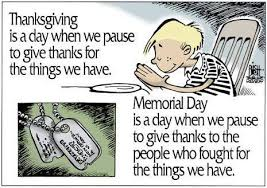 the mccarville report the meaning of memorial day