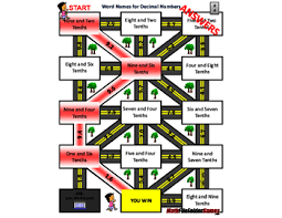 fun decimal place value worksheets mazes by mathfilefoldergames