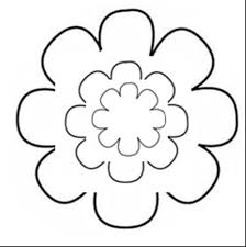 free flower templates printable free download clip art free